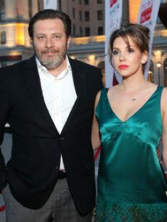 Сергей Минаев с супругой Елизаветой