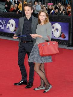 Арсений Шульгин с подругой Елизаветой