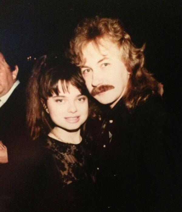 Еще одно семейное фото певицы и композитора