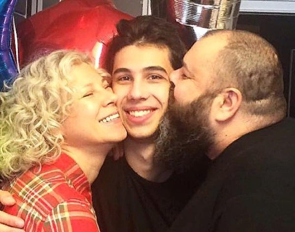 Савва Фадеев с родителями