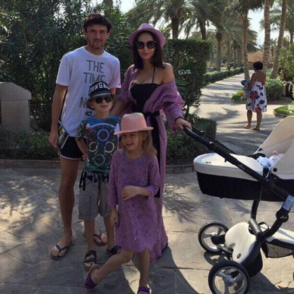 Семья Жирковых отдыхает в солнечном Дубаи