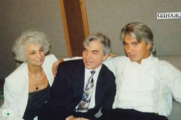 Дмитрий Хворостовский с родителями