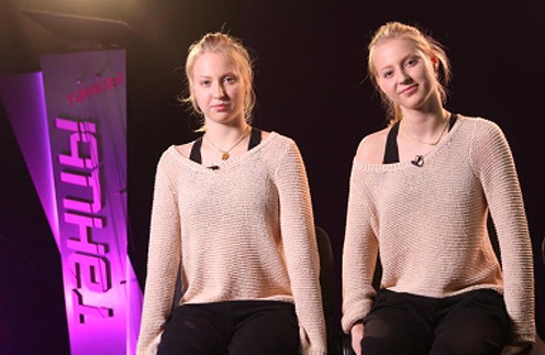 Сестры Вика и Настя Михайлец на шоу «Танцы»