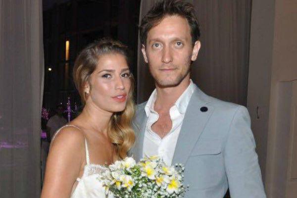 Лиор с супругой Таль