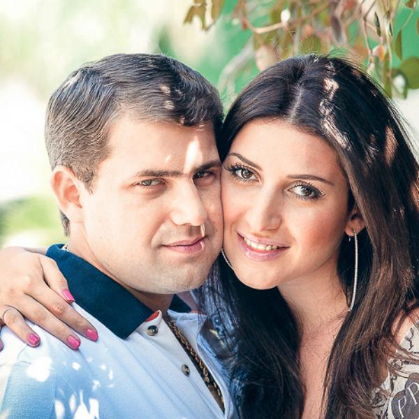 Певица Жасмин с супругом Иланом Шором