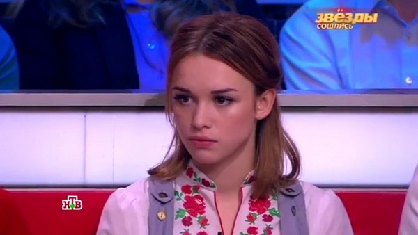 Диана Шурыгина в эфире передачи «Звезды сошлись»
