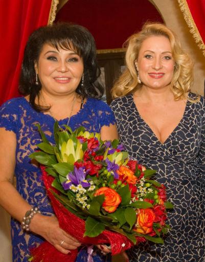 Клара Кузденбаева и Алиса Признякова