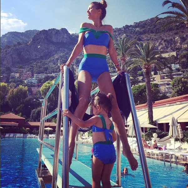 Боня призналась, что скучает по прыжкам в воду