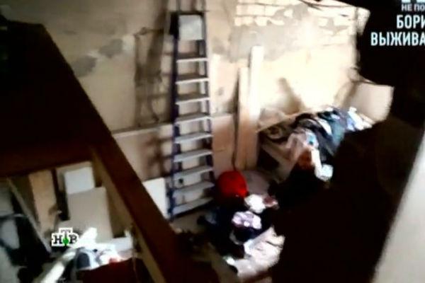 В квартире, в которой проживает мама звезды не проведен свет