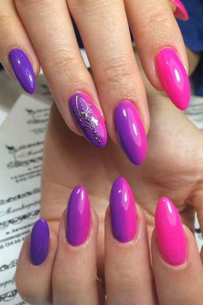 В моде будут оттенки фиолетового