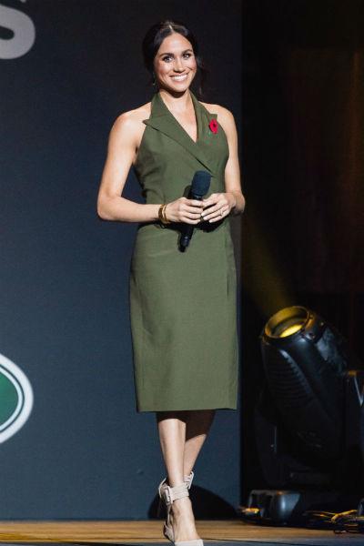 Зеленое платье герцогини было признано одним из самых удачных