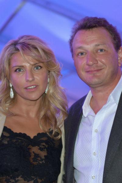 Екатерина Архарова и Марат Башаров