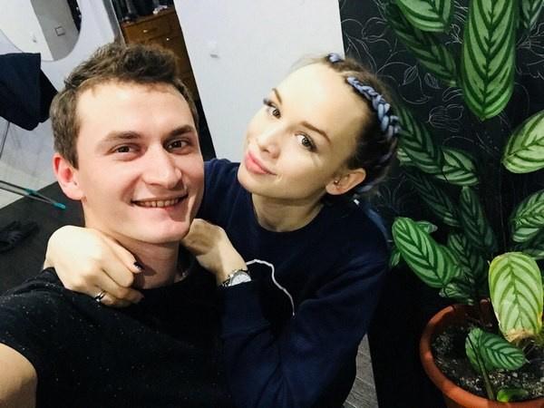 Андрей и Диана поженились осенью прошлого года