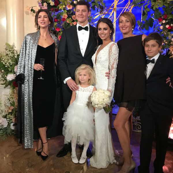 Маргарита Мамун и Александр Сухоруков с гостями