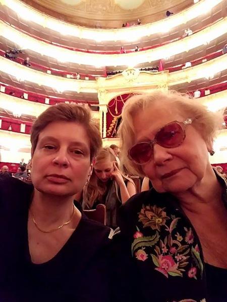 Юлия Хрущева с дочерью Ниной