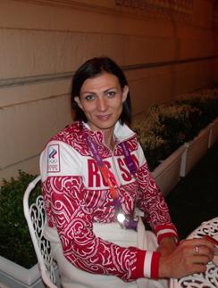 Олимпийская чемпионка Наталья Антюх