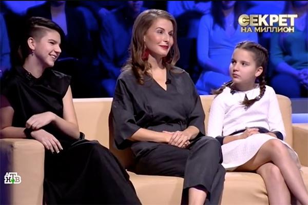 Жена Павлиашвили Ирина и их дочери