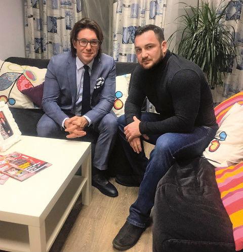 Мы с Александром в редакции «Пусть говорят»