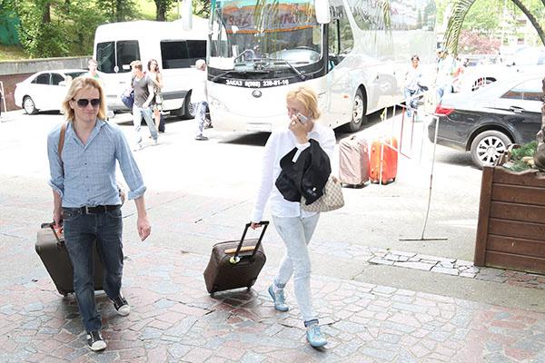 Глеб Матвейчук и Ирина Гринева