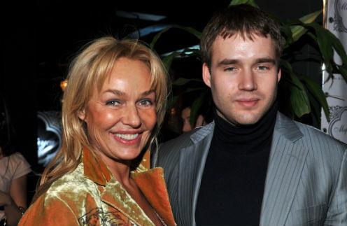Наталья Андрейченко и ее сын Дмитрий