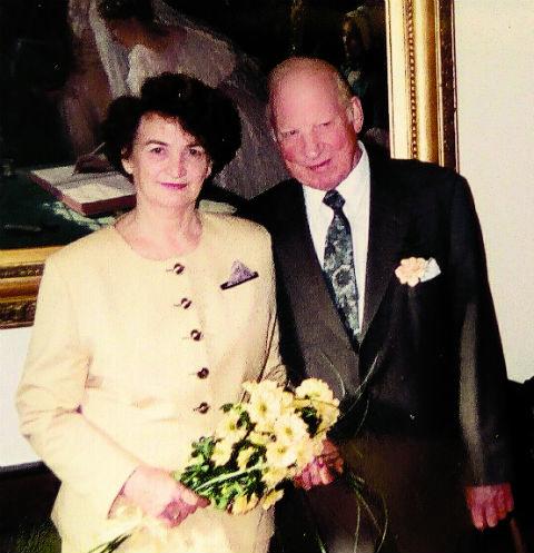 Супруги Вудс в день бракосочетания 14 февраля 1996 года