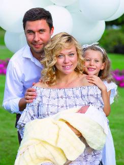 Ксения и Алексей Безугловы воспитывают двух дочерей – 6-летнюю Таю и 3-месячную Алексу