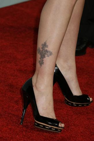 Одна из татуировок актрисы