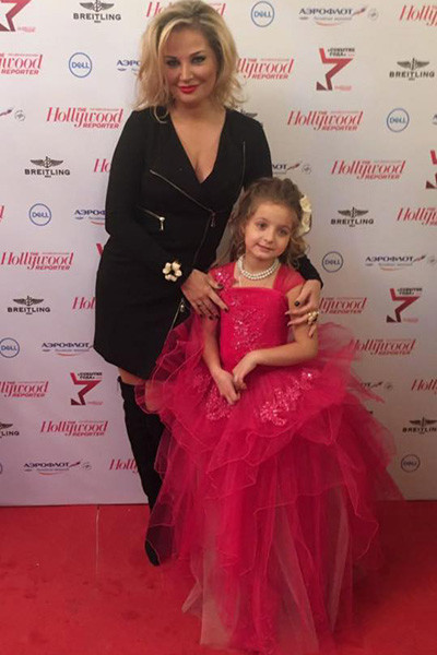 Мария Максакова и ее дочка Людмила