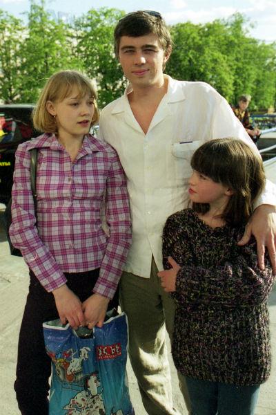 Актриса тяжело переживала смерть Сергея Бодрова. На премьере фильма «Сестры», 2001 год