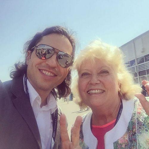 Александр Ревва с мамой, Любовью Николаевой Рачеевой