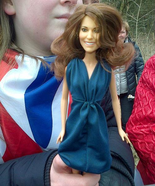 Та самая кукла, от которой герцогиня Кембриджская пришла в ужас