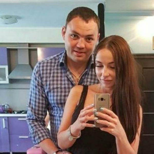 Александр Гобозов с новой избранницей