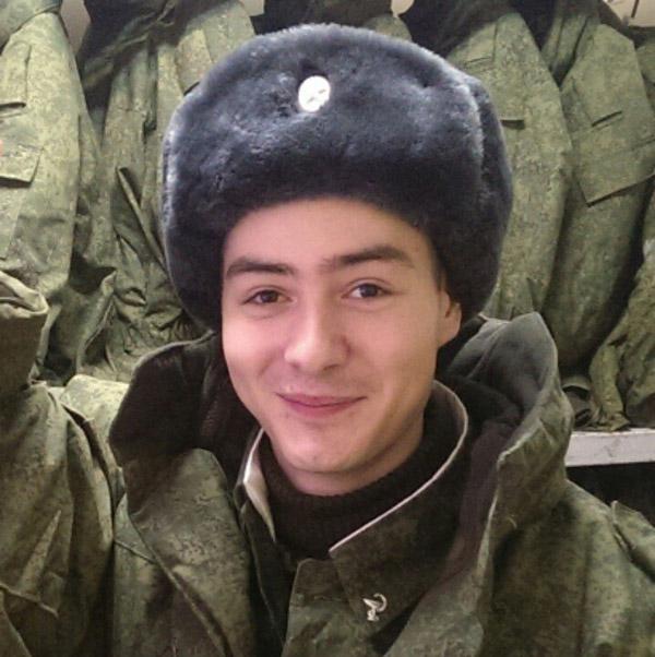 Василий Шукшин в армии