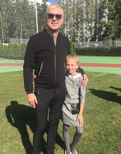 Сергей Светлаков с дочерью Анастасией