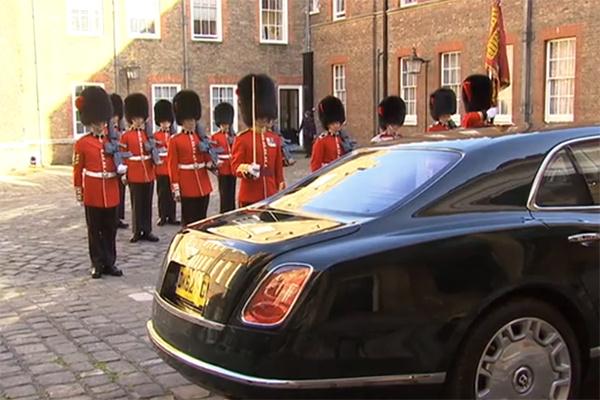 Автомобиль Королевы Елизаветы II