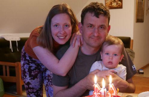 Ксения родила сына прямо в день рождения мужа. Теперь 7 мая - их общий праздник