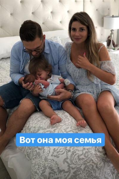 Галина показала сына