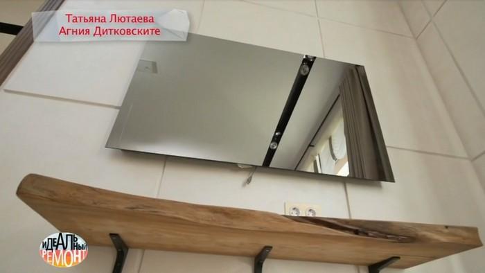 Это не зеркало, а суперсовременный телевизор