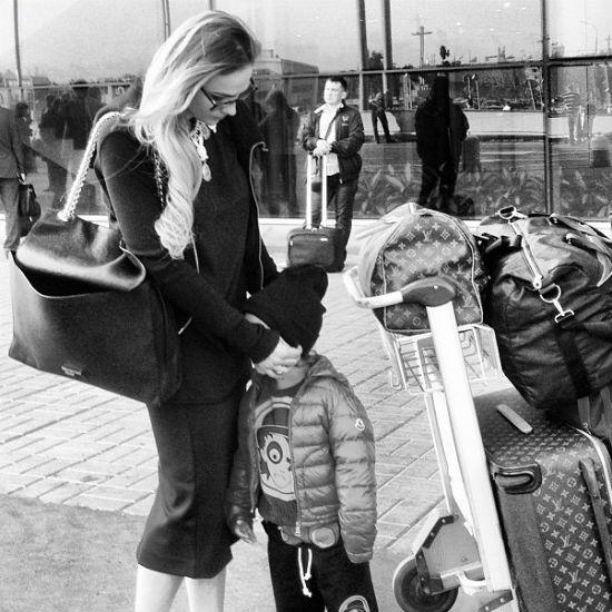 Телеведущая с сыном Богданом начинают свое путешествие