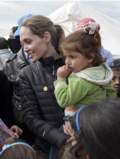 Анджелина Джоли в Иордании