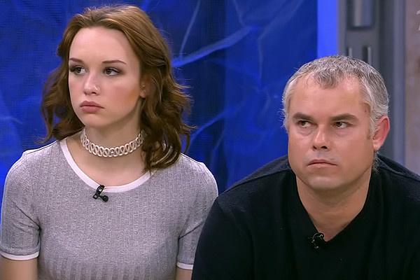 Диана Шурыгина с отцом