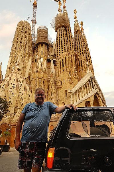 В Испании искупались на побережье, а потом заехали в Барселону