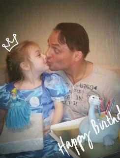 Аскольд Запашный с дочкой Эльзой