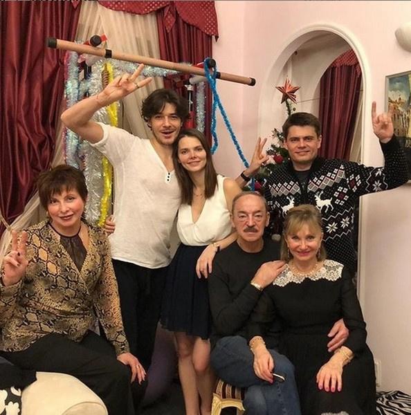 Семья Михаила Боярского