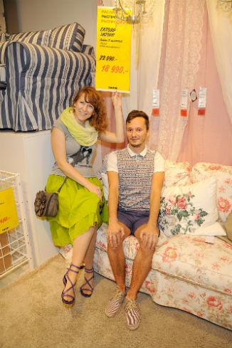 Марина с мужем дождались скидок в «ИКЕА Химки», чтобы докупить мебель для дачи