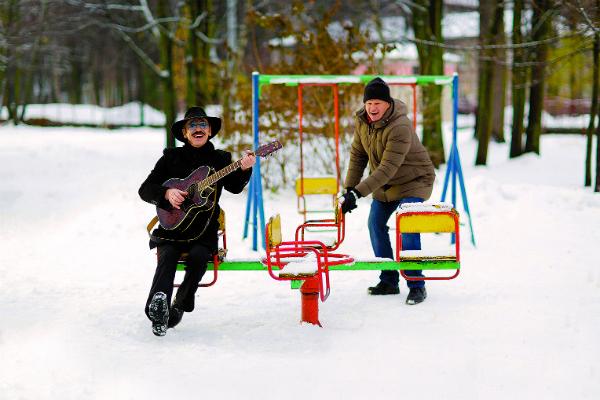 Михаил Боярский и Дмитрий Губерниев