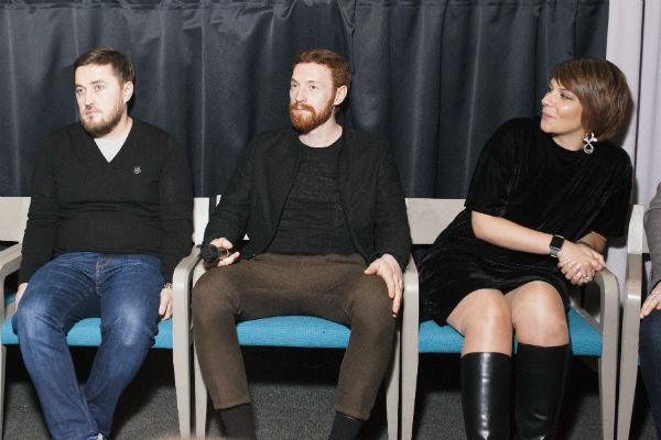 Участники пресс-конференции по сериалу «Адаптация»