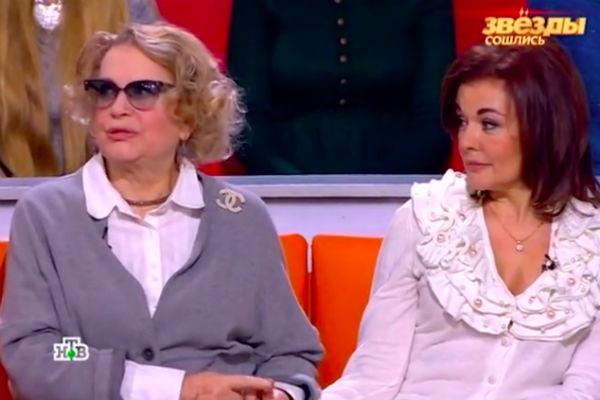 Валентина Талызина с дочерью Ксенией Хаировой