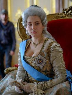 Юлия Снигирь в образе Екатерины II