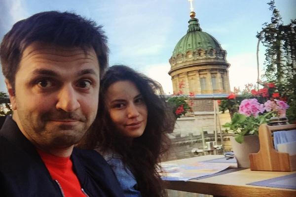 Зураб и Анастасия поженились четыре года назад